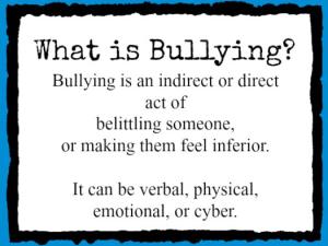 Bullying Belittling