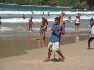 Cricket on Maracas Beach