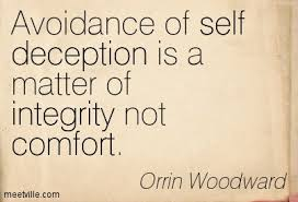 self deception integrity